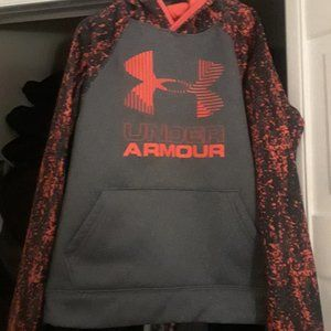 Boys Small Under Armous Hoodie Size 7/8